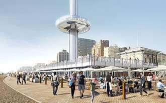 מגדל התצפית של בריטיש איירווייס - British Airways i360