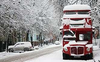חופשה חורפית בלונדון - Winter vacation in London
