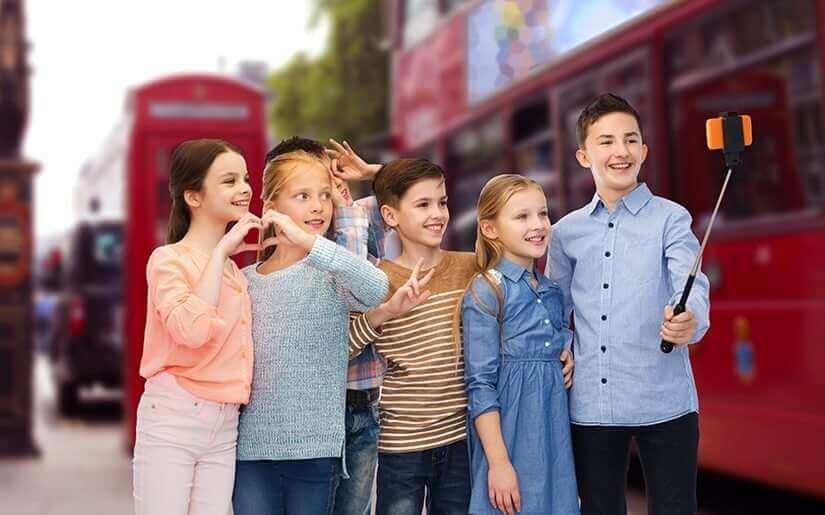 אוגוסט בלונדון עם ילדים