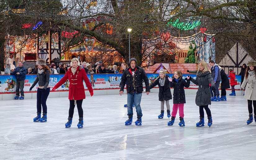 החלקה על הקרח בלונדון - Ice Skating Rinks in London