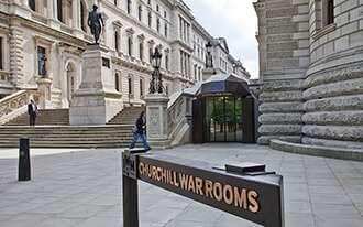 חדרי המלחמה של צ'רצ'יל - Churchill Cabinet War Rooms