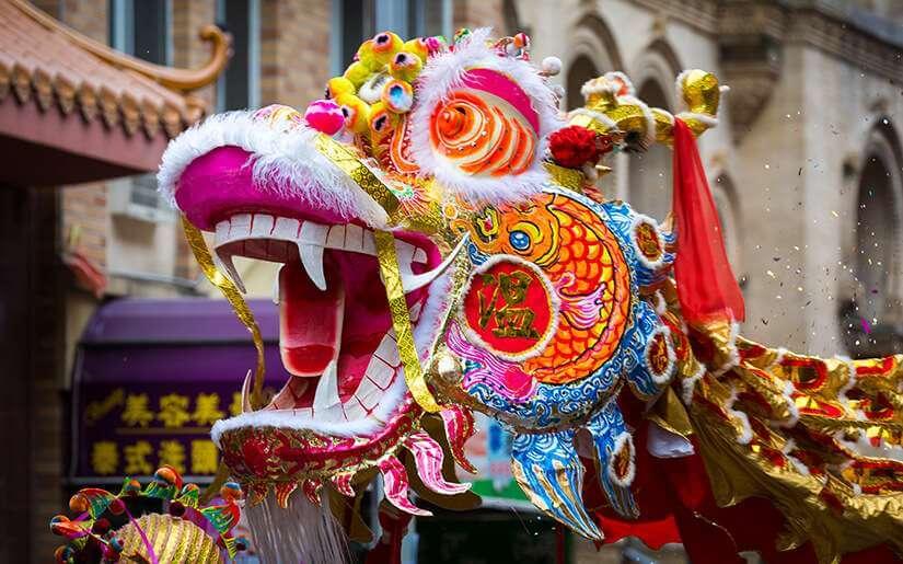 ראש השנה הסיני בלונדון - פסטיבל ססגוני שאסור לפספס